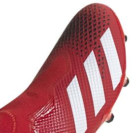 Buty piłkarskie adidas Predator 20.3 Ll Fg EE9554 czerwone czerwone 3