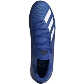 Buty piłkarskie adidas X 19.3 Tf EG7155 niebieskie niebieskie 2