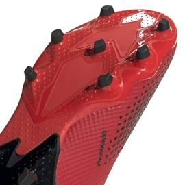 Buty piłkarskie adidas Predator 20.3 Ll Fg EE9554 czerwone czerwone 5