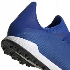 Buty piłkarskie adidas X 19.3 Tf EG7155 niebieskie niebieskie 4