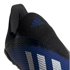 Buty piłkarskie adidas X 19.3 Ll Tf Jr EG9839 niebieskie niebieskie 1