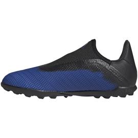 Buty piłkarskie adidas X 19.3 Ll Tf Jr EG9839 niebieskie niebieskie 4