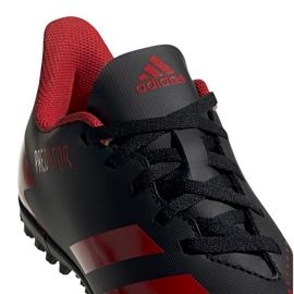 Buty piłkarskie adidas Predator 20.4 Tf Jr EF1956 czarne wielokolorowe 4