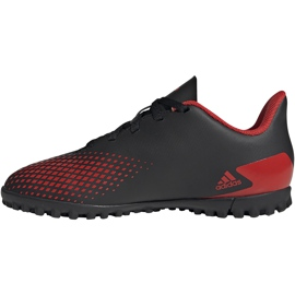 Buty piłkarskie adidas Predator 20.4 Tf Jr EF1956 czarne wielokolorowe 2