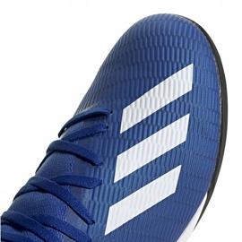 Buty piłkarskie adidas X 19.3 Tf EG7155 niebieskie niebieskie 3