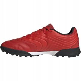 Buty piłkarskie adidas Copa 20.3 Tf czerwone G28545 2