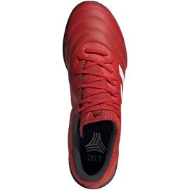 Buty piłkarskie adidas Copa 20.3 Tf czerwone G28545 1