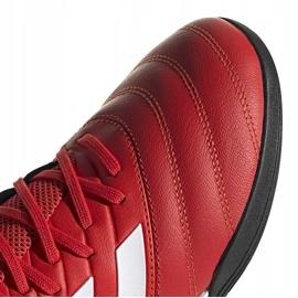 Buty piłkarskie adidas Copa 20.3 Tf czerwone G28545 3
