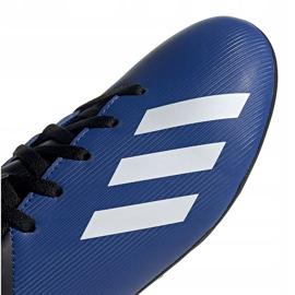 Buty piłkarskie adidas X 19.4 FxG Junior niebiesko-czarne EF1615 niebieskie niebieskie 3