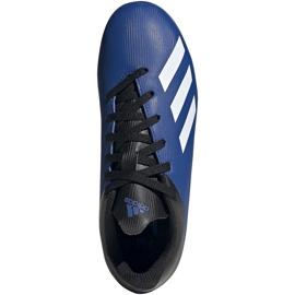 Buty piłkarskie adidas X 19.4 FxG Junior niebiesko-czarne EF1615 niebieskie niebieskie 2
