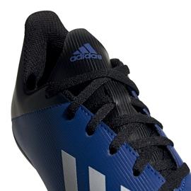 Buty piłkarskie adidas X 19.4 FxG Junior niebiesko-czarne EF1615 niebieskie niebieskie 4
