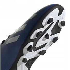 Buty piłkarskie adidas X 19.4 FxG Junior niebiesko-czarne EF1615 niebieskie niebieskie 5