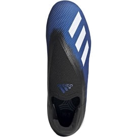 Buty piłkarskie adidas X 19.3 Ll Tf EG7176 niebieskie niebieskie 2