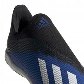 Buty piłkarskie adidas X 19.3 Ll Tf EG7176 niebieskie niebieskie 4