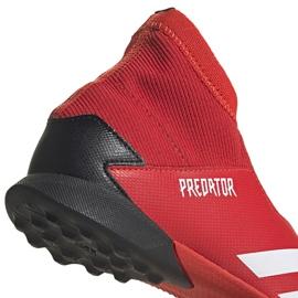 Buty piłkarskie adidas Predator 20.3 Ll Tf Jr EF1949 czerwone czerwone 4