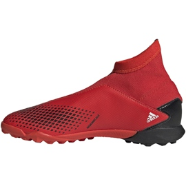 Buty piłkarskie adidas Predator 20.3 Ll Tf Jr EF1949 czerwone czerwone 2