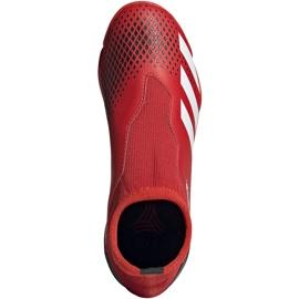 Buty piłkarskie adidas Predator 20.3 Ll Tf Jr EF1949 czerwone czerwone 1