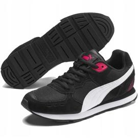 Buty Puma Vista czarno-biało-czerwone 369365 12 białe czarne 3