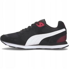 Buty Puma Vista czarno-biało-czerwone 369365 12 białe czarne 2