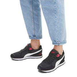 Buty Puma Vista czarno-biało-czerwone 369365 12 białe czarne 6