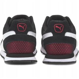 Buty Puma Vista czarno-biało-czerwone 369365 12 białe czarne 4