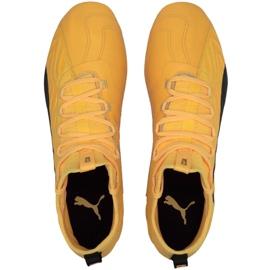 Buty piłkarskie Puma One 20.3 Fg Ag żółte 105826 01 2