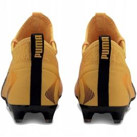 Buty piłkarskie Puma One 20.3 Fg Ag żółte 105826 01 4