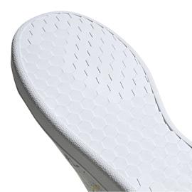 Buty dla dzieci adidas Advantage K biało-kolorowe EG2000 5