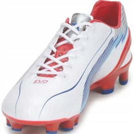 Buty piłkarskie Puma Evo Speed 1 Fg biało-czerwono-niebieskie 102527 01 białe białe 3