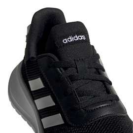 Buty dla dzieci adidas Tensaur Run K czarne EG4128 4