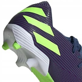 Buty piłkarskie adidas Nemeziz Messi 19.3 Fg EF1806 granatowe fioletowe 4