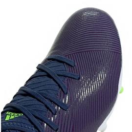 Buty piłkarskie adidas Nemeziz Messi 19.3 Fg EF1806 granatowe fioletowe 3