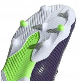 Buty piłkarskie adidas Nemeziz Messi 19.3 Fg EF1806 granatowe fioletowe 5