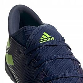 Buty piłkarskie adidas Nemeziz Messi 19.3 Tf EF1809 fioletowe wielokolorowe 3