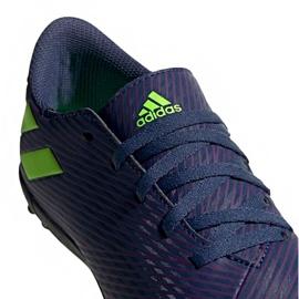 Buty piłkarskie adidas Nemeziz Messi 19.4 Tf EF1805 granatowe granatowe 3