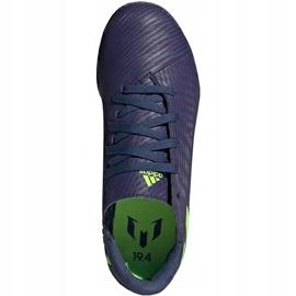 Buty piłkarskie adidas Nemeziz Messi 19.4 Tf EF1805 granatowe granatowe 1