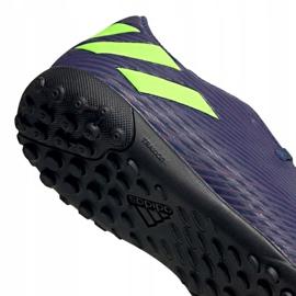 Buty piłkarskie adidas Nemeziz Messi 19.4 Tf EF1805 granatowe granatowe 4