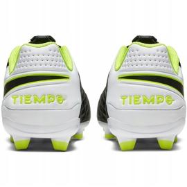 Buty piłkarskie Nike Tiempo Legend 8 Academy FG/MG Junior AT5732 007 czarne czarne 4