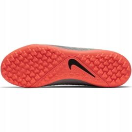 Buty piłkarskie Nike Phantom Vsn Academy Df Tf AO3269 080 szare szare 5