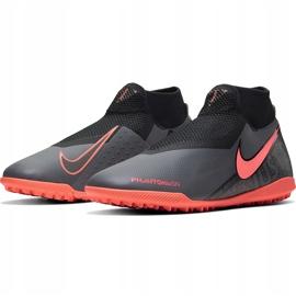 Buty piłkarskie Nike Phantom Vsn Academy Df Tf AO3269 080 szare szare 3