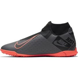 Buty piłkarskie Nike Phantom Vsn Academy Df Tf AO3269 080 szare szare 2