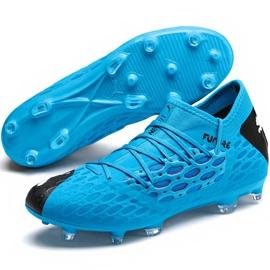 Buty piłkarskie Puma Future 5.3 Netfit Fg Ag 105756 01 niebieskie niebieskie 3
