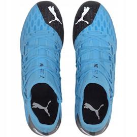 Buty piłkarskie Puma Future 5.3 Netfit Fg Ag 105756 01 niebieskie niebieskie 2