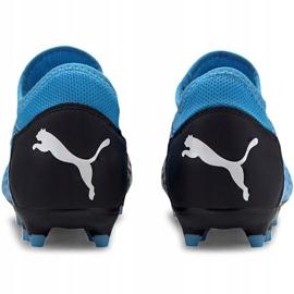 Buty piłkarskie Puma Future 5.4 Fg Ag 105785 01 niebieskie niebieski,czarny 4