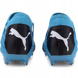 Buty piłkarskie Puma Future 5.3 Netfit Fg Ag 105756 01 niebieskie niebieskie 4