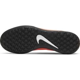Buty piłkarskie Nike Phantom Venom Club Tf Jr AO0400 810 czerwone 5