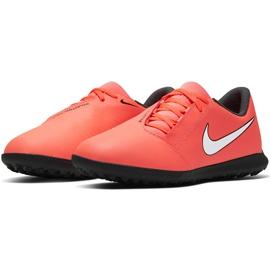 Buty piłkarskie Nike Phantom Venom Club Tf Jr AO0400 810 czerwone 3