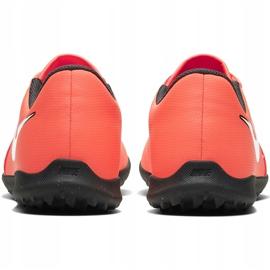 Buty piłkarskie Nike Phantom Venom Club Tf Jr AO0400 810 czerwone 4