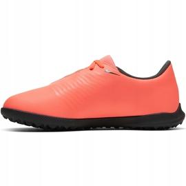 Buty piłkarskie Nike Phantom Venom Club Tf Jr AO0400 810 czerwone 2