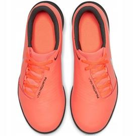 Buty piłkarskie Nike Phantom Venom Club Tf Jr AO0400 810 czerwone 1
